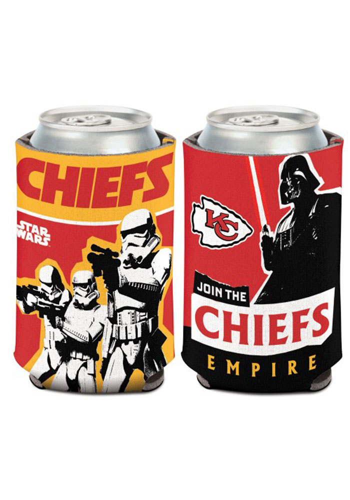 Kansas City Chiefs 12oz Can Vader Coolie - Image 1