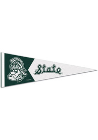 Michigan State Spartans 9x24 inch Vault GWP Promo Pennant