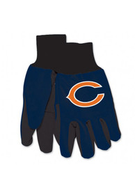 Chicago Bears Youth 2tone Gloves - Navy Blue