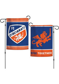 FC Cincinnati 12x18 inch 2-Sided Garden Flag
