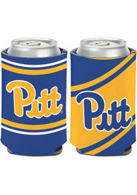 Pitt Panthers 12oz Striped Can Cooler Coolie