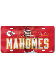 Kansas City Chiefs Glossy Car Accessory License Plate