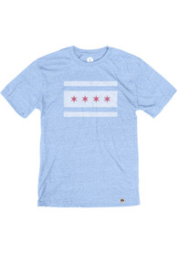 Chicago Light Blue Chicago Flag Short Sleeve T Shirt