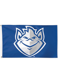 Saint Louis Billikens 3x5 ft Deluxe Blue Silk Screen Grommet Flag