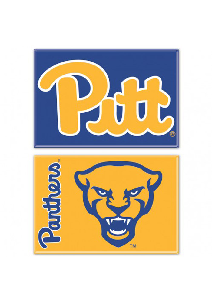 Pitt Panthers 2x3 2-Pack Magnet - Image 1