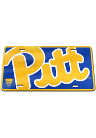 Pitt Panthers Mega Inlaid Car Accessory License Plate