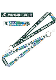 Michigan State Spartans 2019 Final Four 1 Inch Lanyard