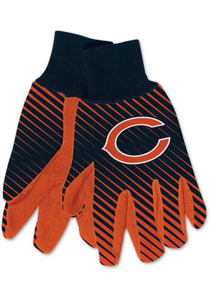 Chicago Bears Utility Mens Gloves - Image 1