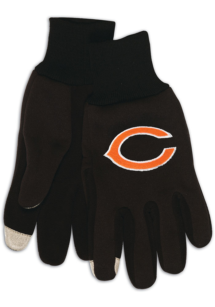Chicago Bears Touch Mens Gloves - Image 1