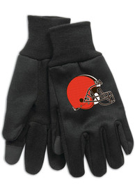 Cleveland Browns Touch Gloves - Brown