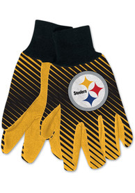 Pittsburgh Steelers Utility Gloves - Yellow
