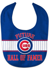 Chicago Cubs Baby Future Hall of Famer Bib - Blue