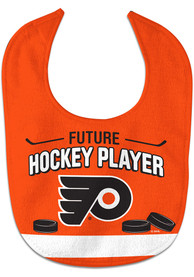 Philadelphia Flyers Baby Future Hockey Player Bib - Orange