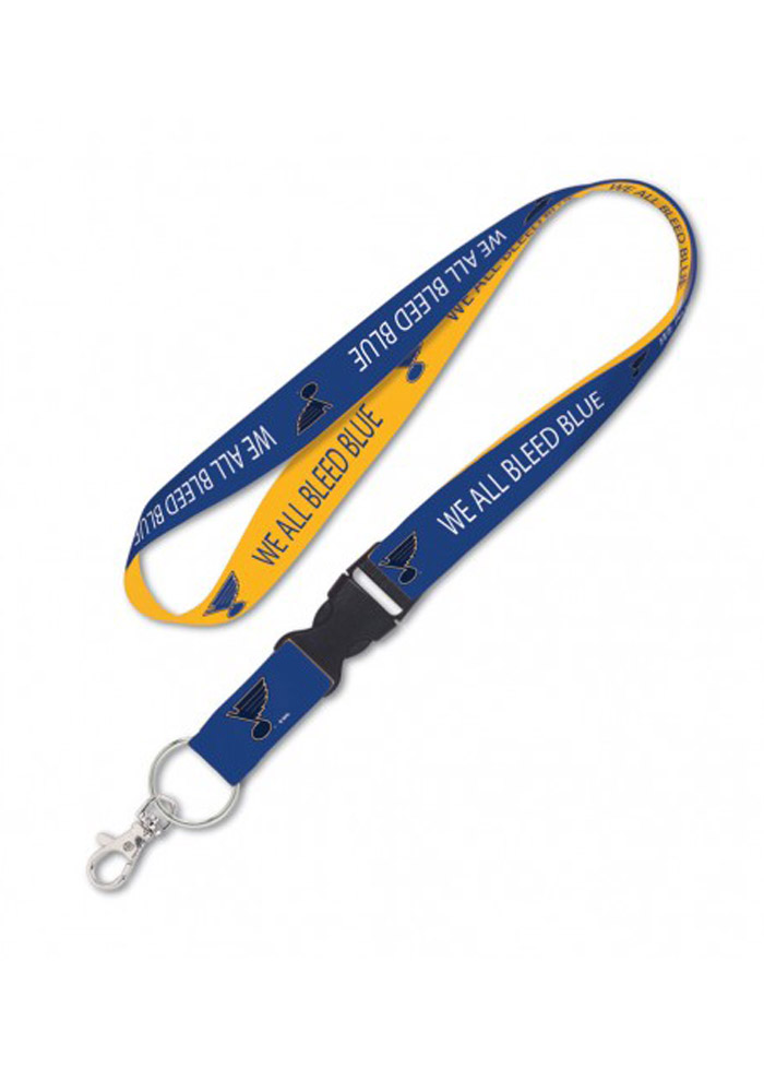 St Louis Blues Slogan Lanyard - Image 1