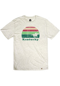 Kentucky Oatmeal Sunset Racing Short Sleeve T Shirt