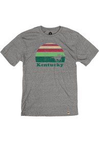 Kentucky Grey Sunset Racing Short Sleeve T Shirt