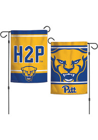 Pitt Panthers 12x18 inch 2 Sided Garden Flag