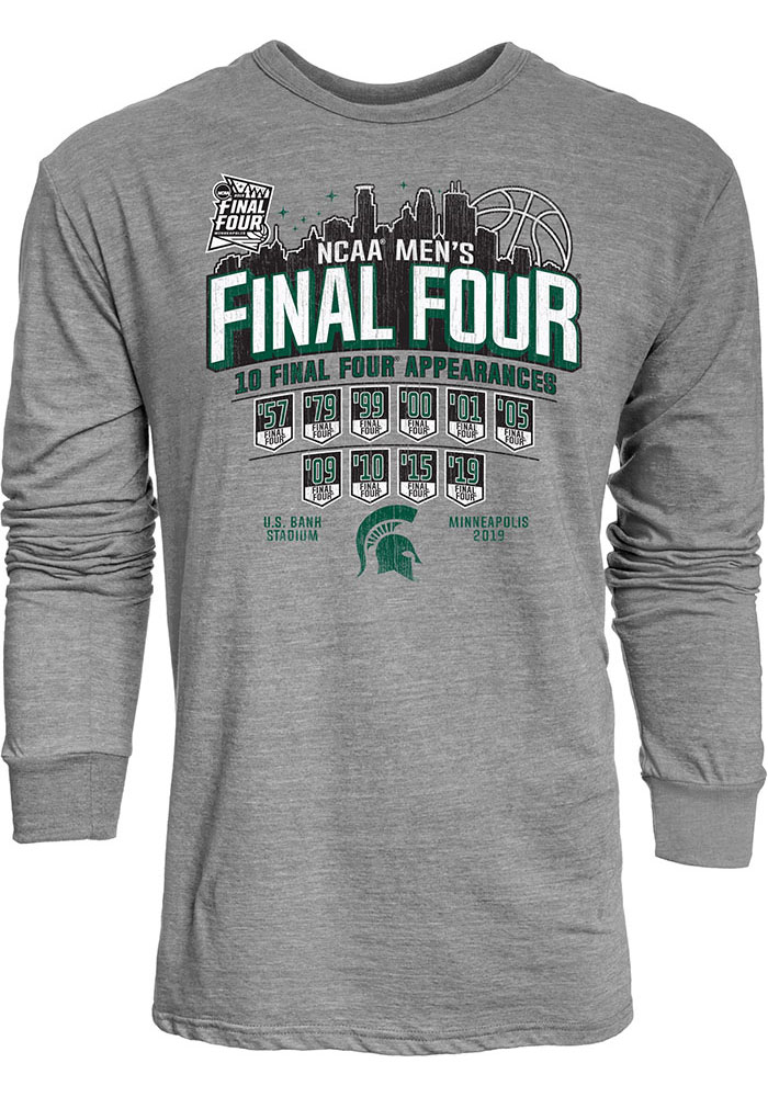 NCAA Mens Floral Shirt x Large Michigan State Spartans