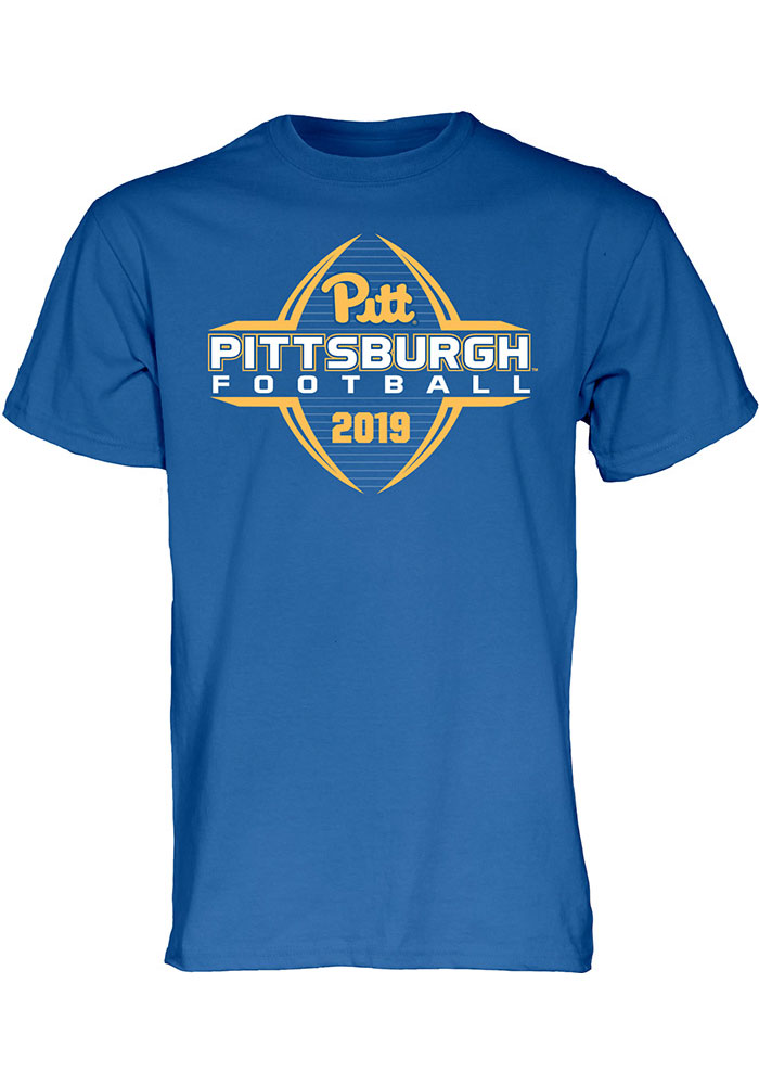Pitt Panthers Blue Football Schedule Short Sleeve T Shirt - Image 1