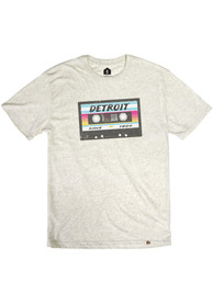 Detroit Oatmeal Mix Tape Short Sleeve T Shirt