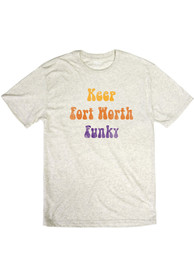Fort Worth Oatmeal Funky Short Sleeve T Shirt