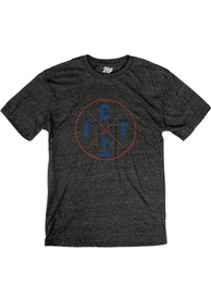 Wichita Black Circle Icons Short Sleeve T Shirt
