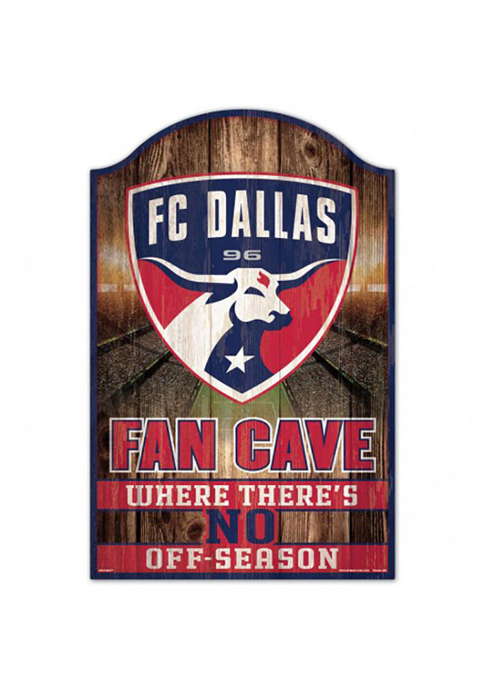 FC Dallas 11x17 Fan Cave Sign
