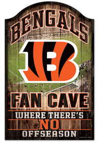 Cincinnati Bengals 11x17 Fan Cave Sign