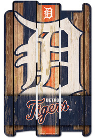 Detroit Tigers 11x17 Vertical Plank Sign