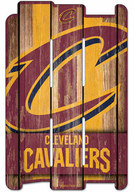 Cleveland Cavaliers 11x17 Vertical Plank Sign