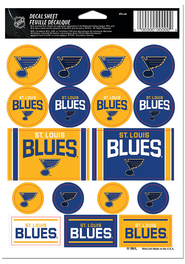 St Louis Blues 5x7 Stickers - Image 1