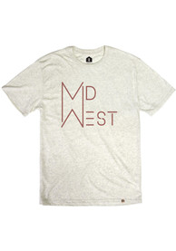 Midwest Oatmeal MDW Short Sleeve T Shirt