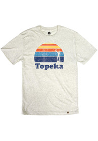 Topeka Oatmeal Astra Sunset Short Sleeve T Shirt