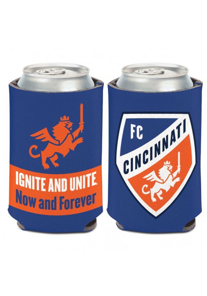 FC Cincinnati Ignite Unite 12oz Can Cooler Coolie