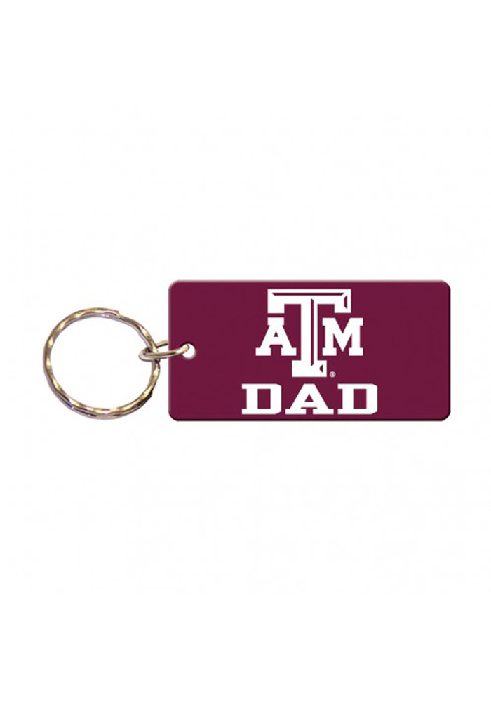 Texas A&M Aggies Dad Keychain - Image 1