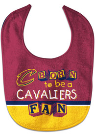 Cleveland Cavaliers Baby Born to Be Bib - Maroon