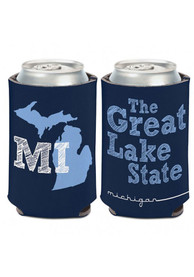 Michigan 12 oz. Can 2-sided The Great Lake State Coolie