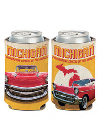 Michigan 12 oz. Can Automotive Capital of the World Coolie