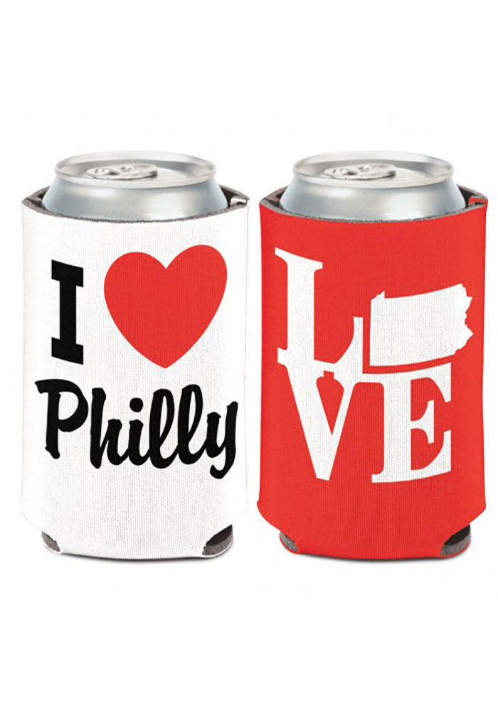 Philadelphia 12 oz. Can Coolie I love Philly Coolie - Image 1