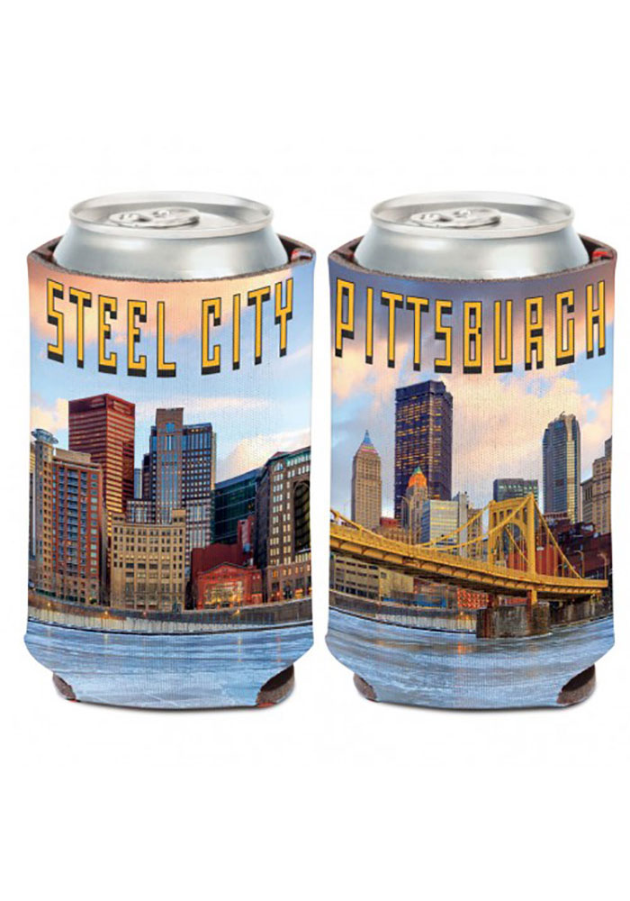 Pittsburgh 12 oz. Can Coolie Steel City Coolie - Image 1