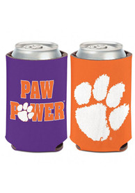 Clemson Tigers 12oz Can Coolie