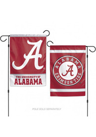 Alabama Crimson Tide 12x18 inch 2-Sided Garden Flag