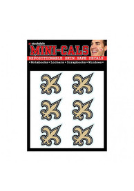 New Orleans Saints 6 Pack Tattoo