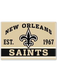 New Orleans Saints 2.5x3.5 Metal Magnet