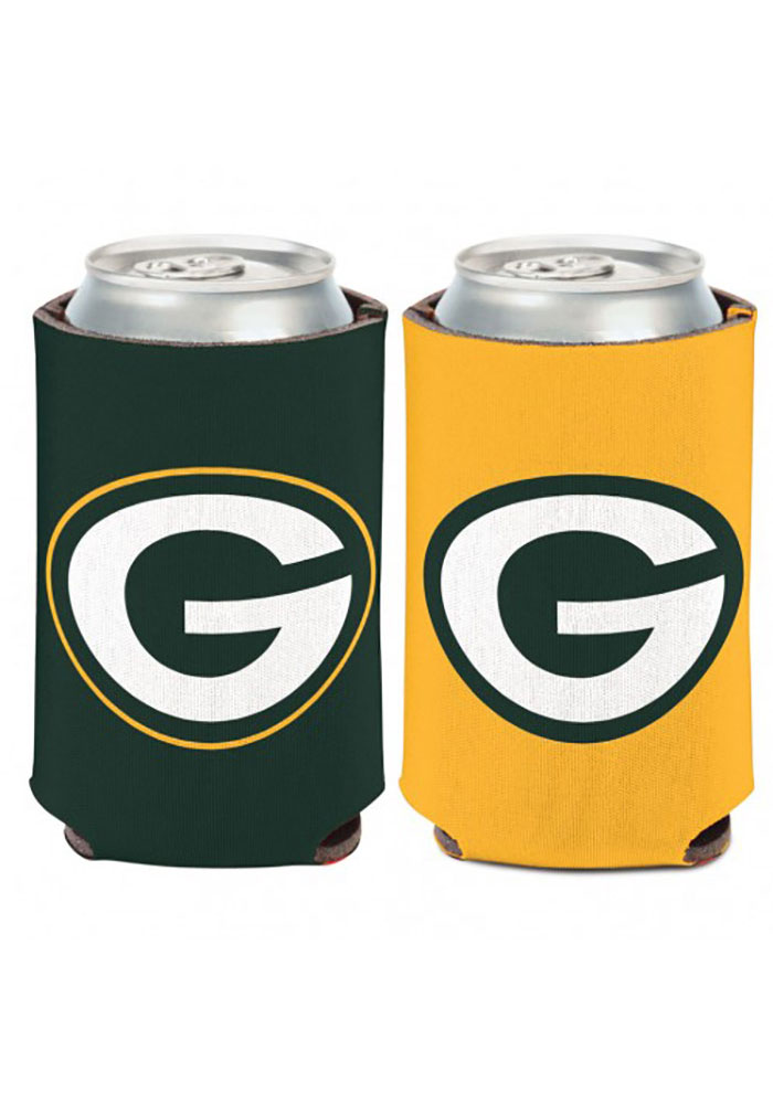 Green Bay Packers 12oz Can Coolie - Image 1