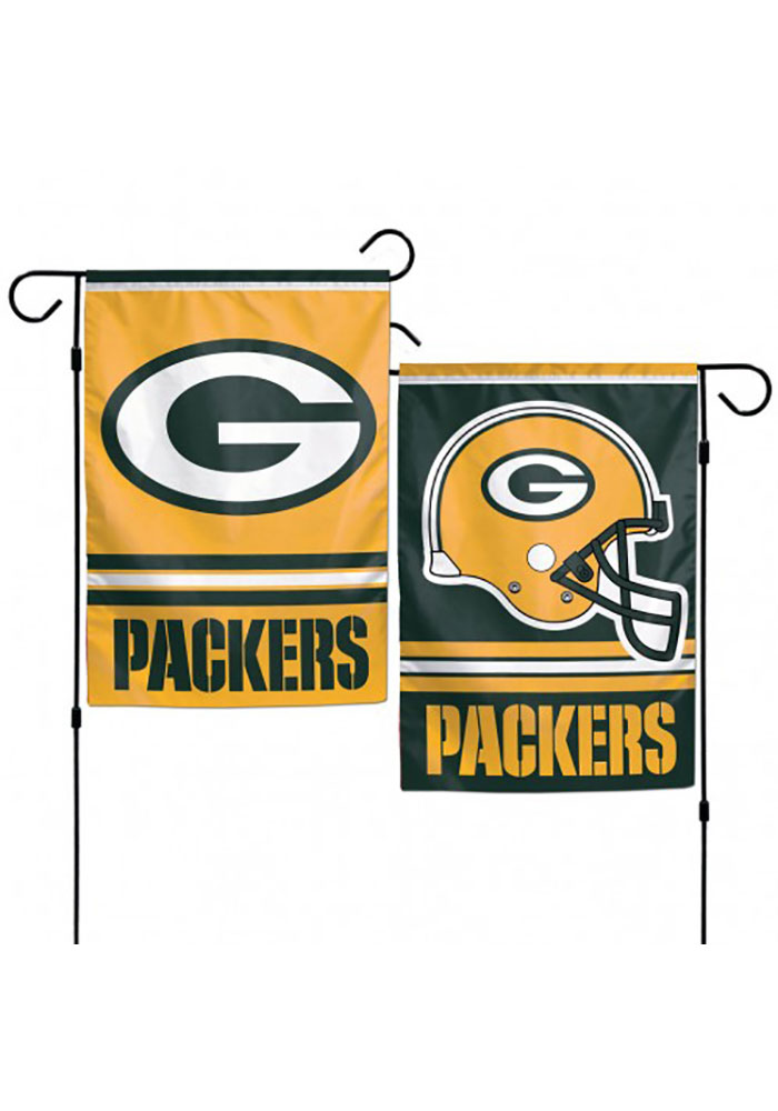 Green Bay Packers 12.5x18 2 Sided Garden Flag - Image 1