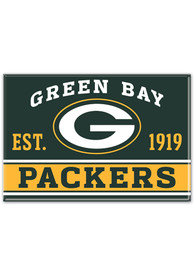 Green Bay Packers 2.5x3.5 Metal Magnet