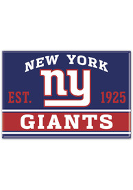 New York Giants 2.5x3.5 Metal Magnet
