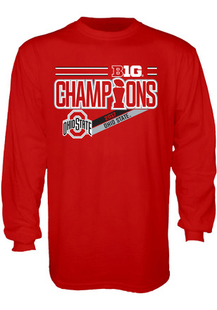 Ohio State Buckeyes Mens Red Locker Room Tee