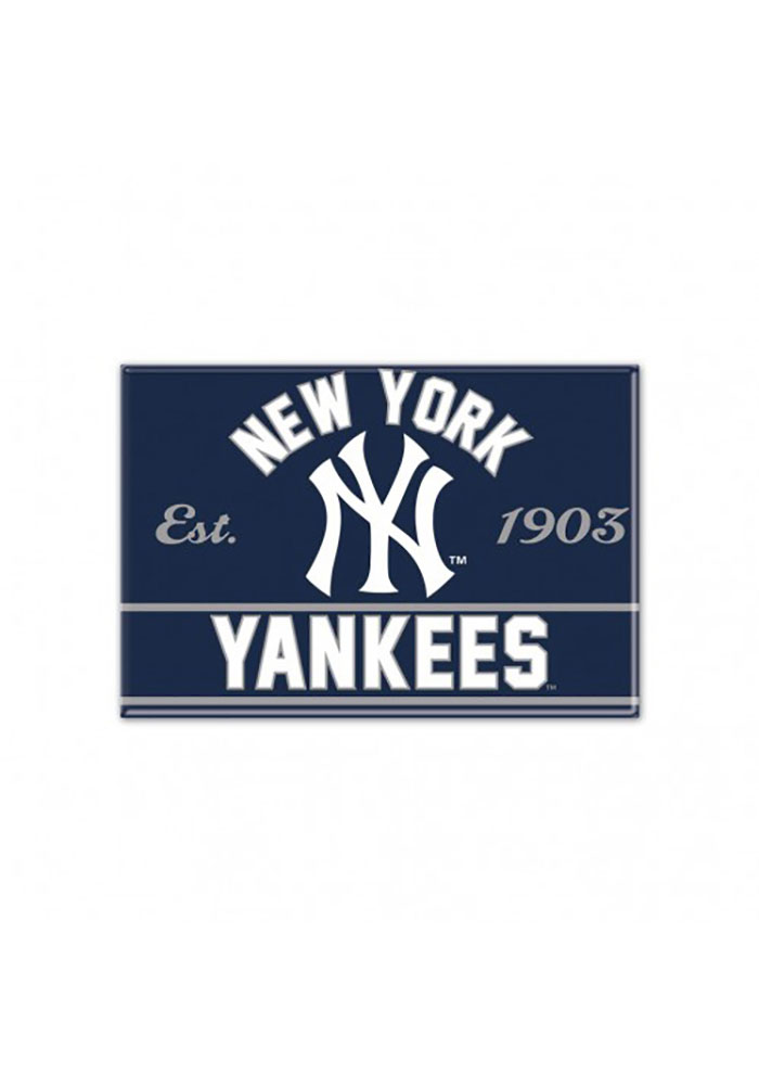 New York Yankees 2.5x3.5 Metal Magnet